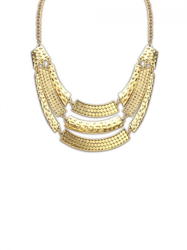 Occident Major Suit Street Shooting Metallic Personality Fashion Necklace