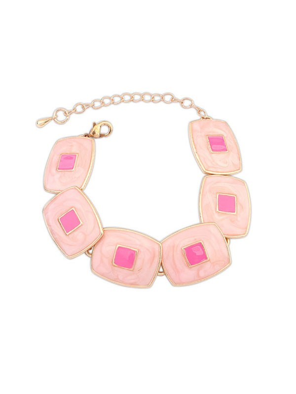 Occident Fashionable Elegant Blocks Temperament Fashion Bracelets