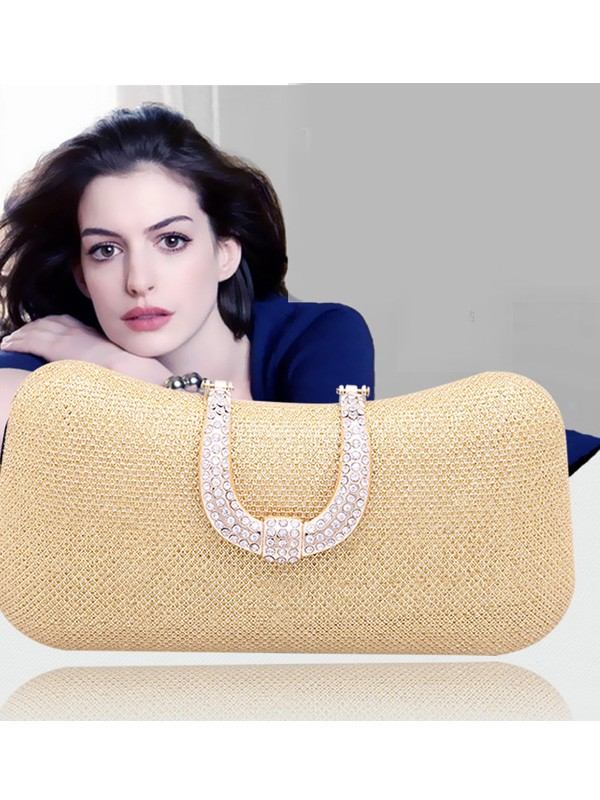 Mini Rhinestone Pillow Party/Evening Bag
