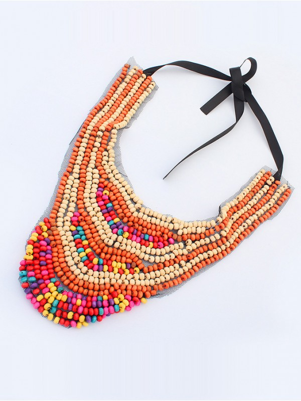 Occident Exotic Personality Retro Fashion Necklace-4