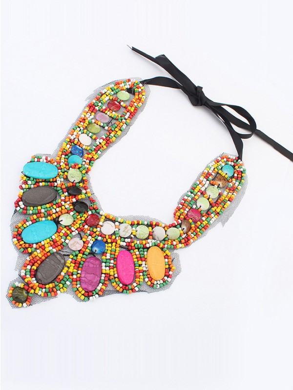 Occident Exotic Personality Retro Fashion Necklace-11