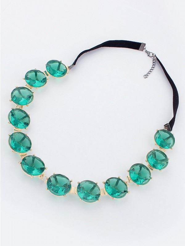 Emerald Fashion Necklace