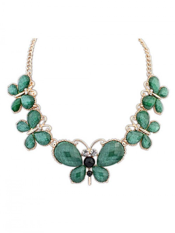 Occident Stylish Butterfly New Temperament Fashion Necklace