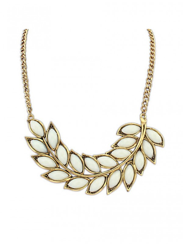 Occident New Bohemia Tree leaf Fashion Necklace