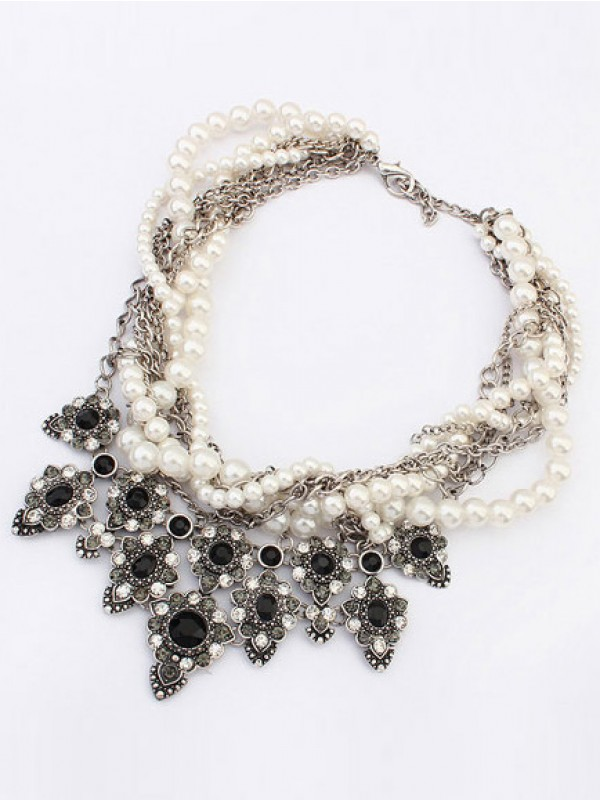 Occident Major suit Personality Hyperbolic Fashion Necklace