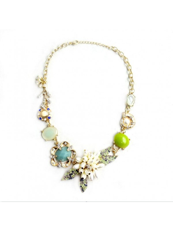 Occident Through Time and Space Exotic Immortal Gas Fashion Necklace