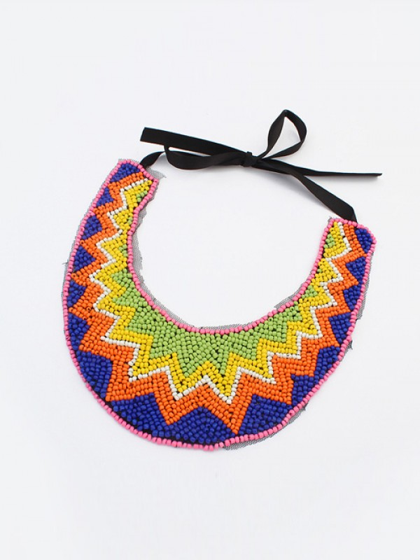Occident Exotic Personality Retro Fashion Necklace-16