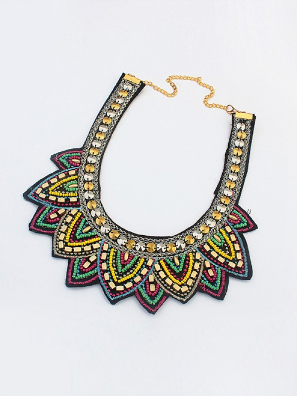 Occident Hyperbolic Ethnic Personality Fashion Necklace