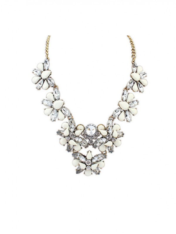 Occident Fashionable Geometry All-match Popular Fashion Necklace