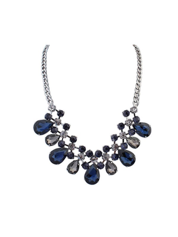 Occident Major Suit Celebrity Fashion Street Shooting Necklace