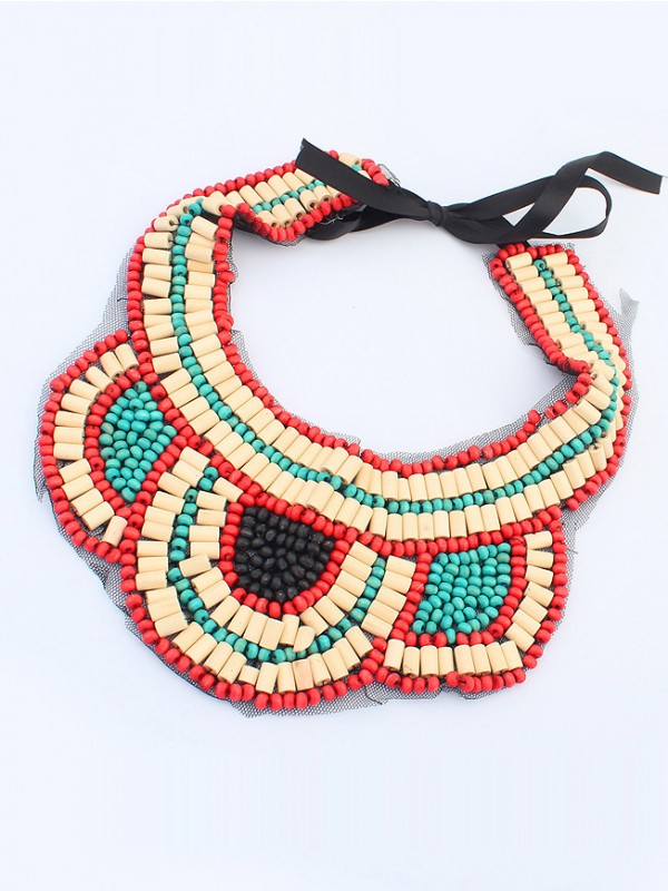Occident Exotic Personality Retro Fashion Necklace-8