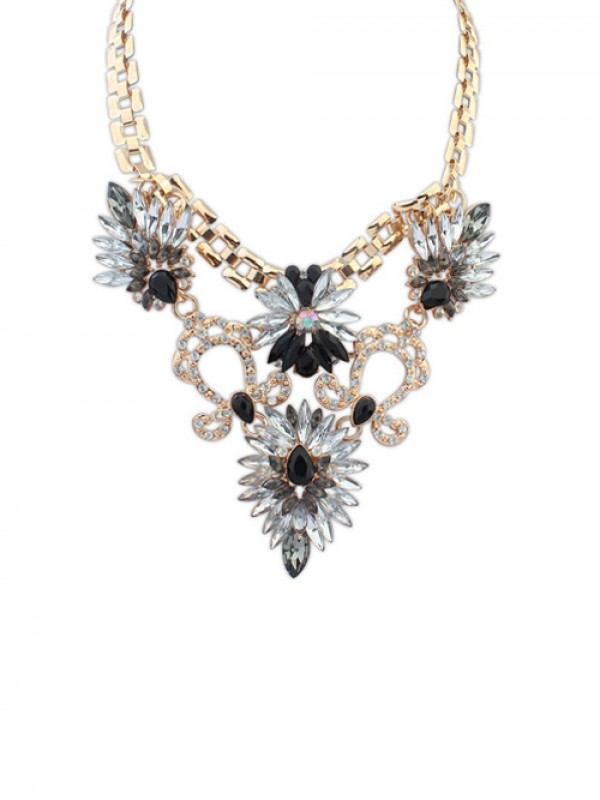 Occident Stylish Elegant Bright all-match Fashion Necklace
