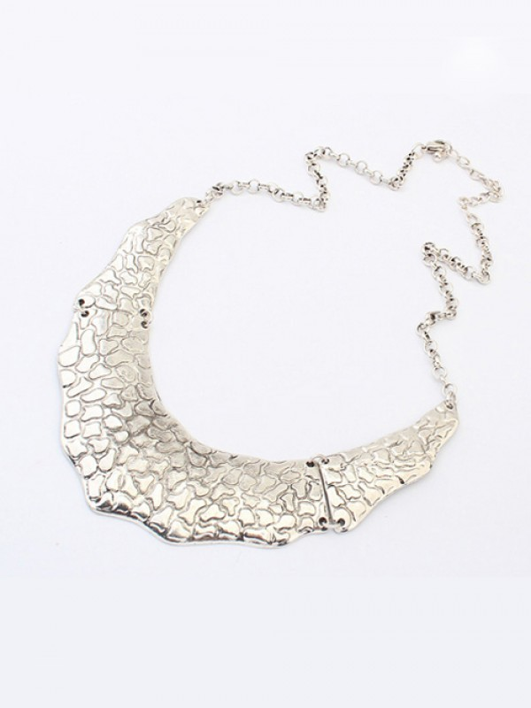 Occident Trendy Retro Metallic Street Shooting Fashion Necklace