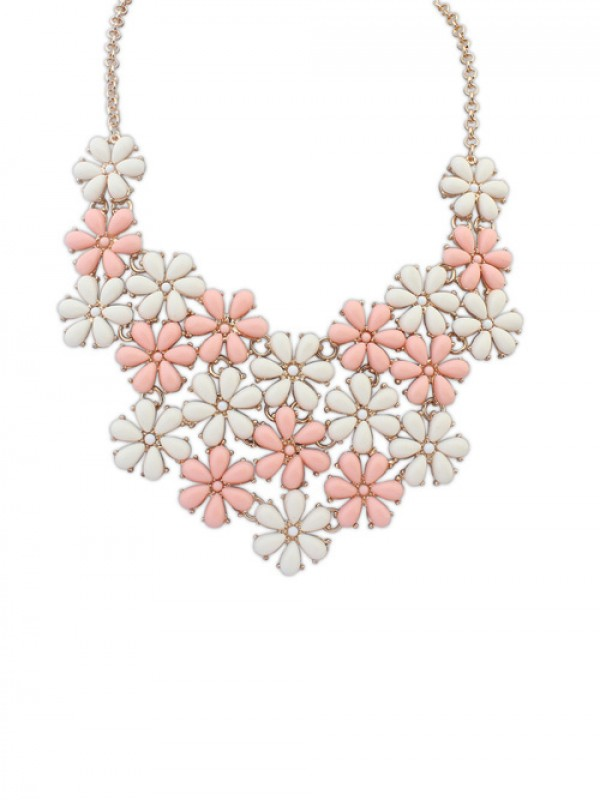 Occident Blooming Fresh Floret Fashion Necklace