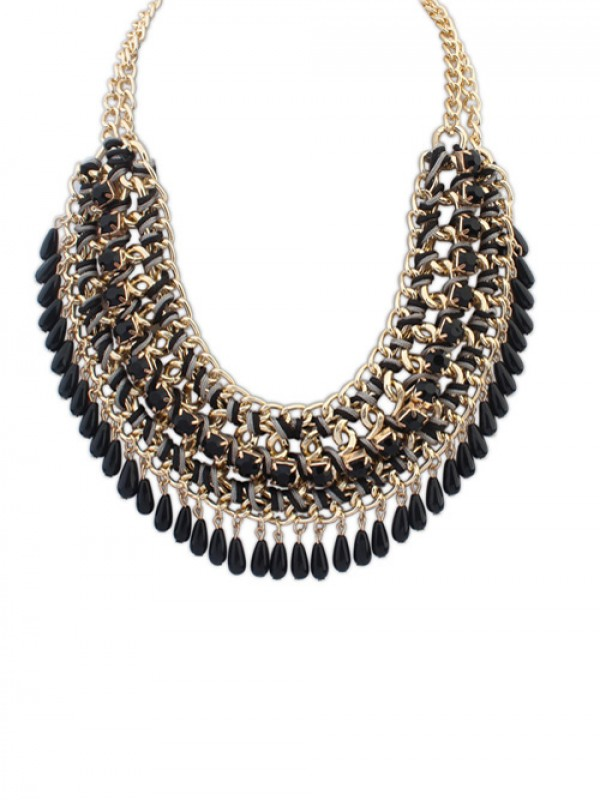 Occident Ethnic Woven Street Shooting Retro Fashion Necklace