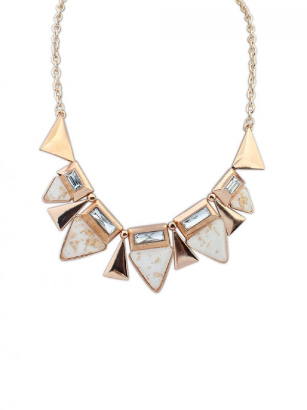 Occident OL Style Geometry Triangle Elegant Fashion Necklace