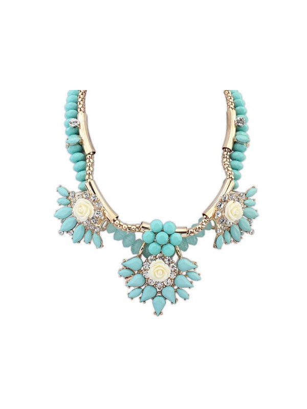 Occident Trendy Fashionable Hyperbolic Fashion Necklace